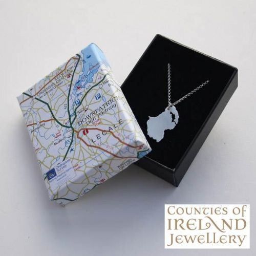 County Down Map Pendant